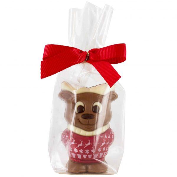 Chocolate Moose printed Christmas sweater Belfine gift