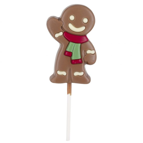 Chocolate gingerbread lollipop Belfine ChocDecor