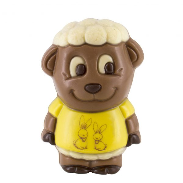 sheep lamb chocolate figurine Easter Belfine ChocDecor
