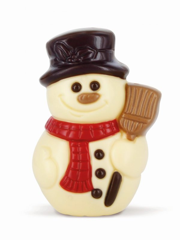 Snowman chocolate figurine Christmas Belfine ChocDecor