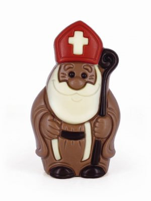Saint Nicholas chocolate figurine Belfine ChocDecor