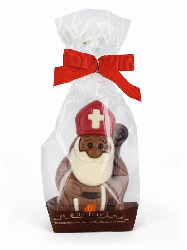Saint Nicholas chocolate figurine Belfine ChocDecor