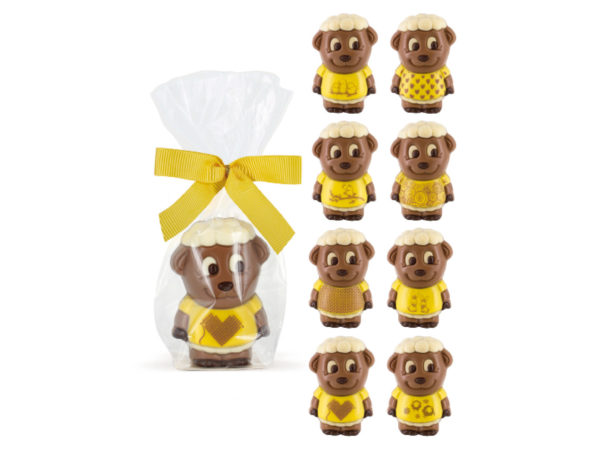 Milk chocolate lamb sheep printed Easter ChocDecor Belfine