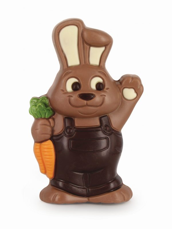Easter chocolate bunny with carrot ChocDecor Belfine