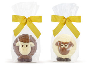 Decorated chocolate lamb sheep Easter ChocDecor Belfine
