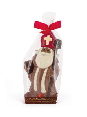 Milk chocolate Saint Nicholas Belfine ChocDecor