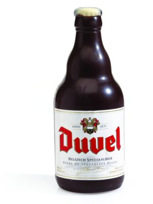 Dark chocolate Duvel bottle Belfine