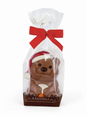 Decorated chocolate bear Belfine Christmas gift