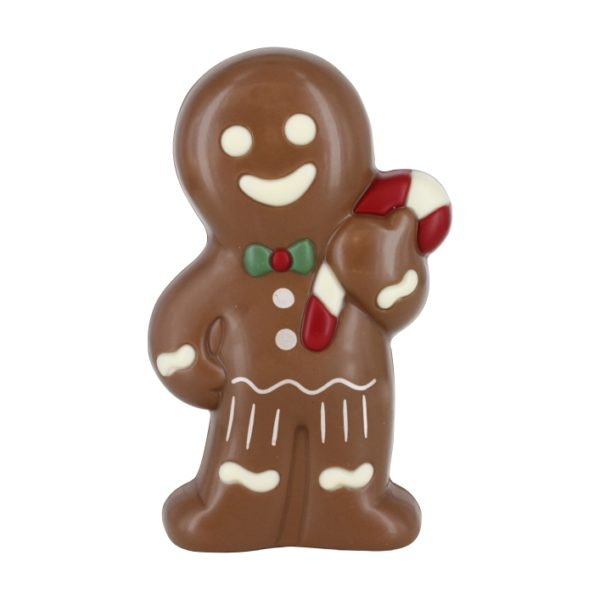 Chocolate gingerbread man with print Belfine Christmas
