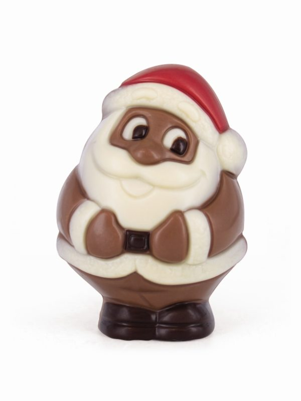 Belfine Christmas chocolate figurine Santa Claus